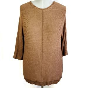Chico's brown sweater
